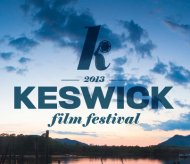 14th Keswick Film Festival: 21st-24th Feb 2013